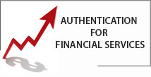 Authentication for financial services